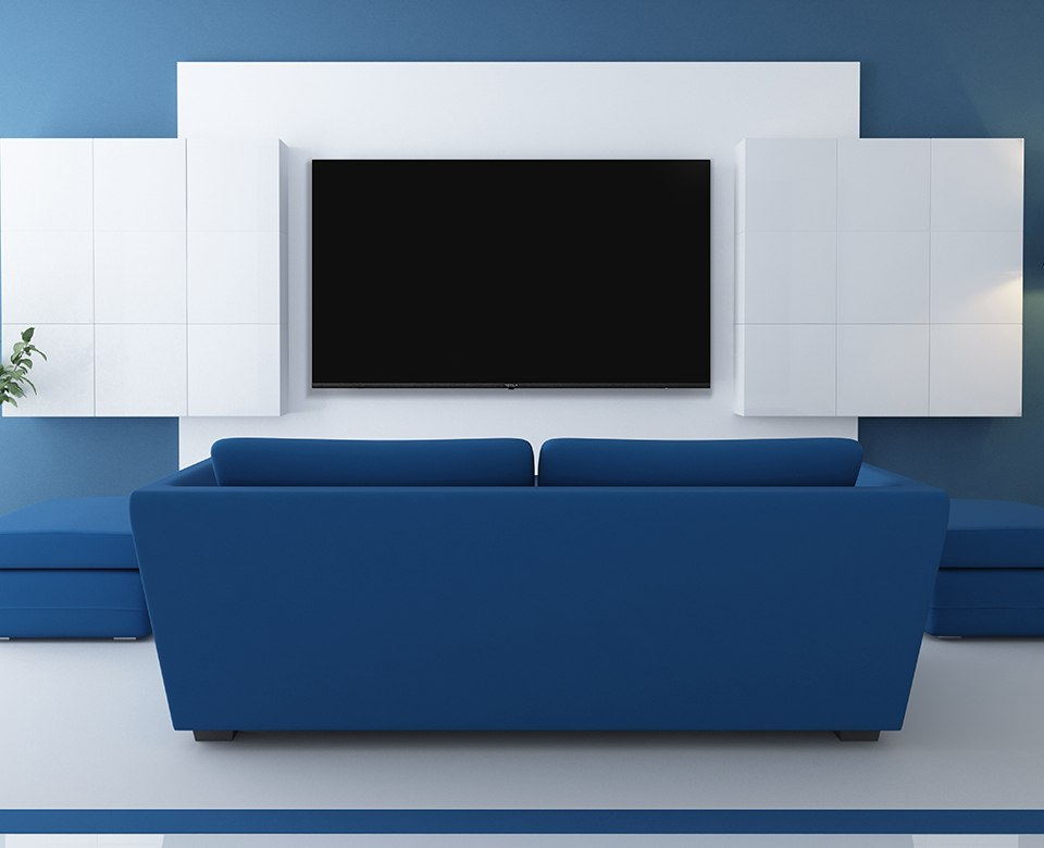 DECORATIVE WALL: MAKE YOUR TELEVISION BECOME A PART OF THE INTERIOR