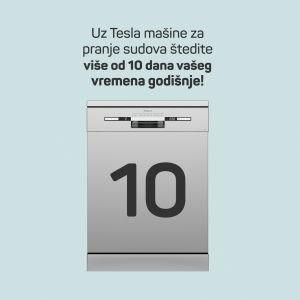 Ušteda vremena korišćenjem Tesla mašine za sudove