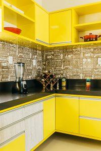 Žuta kuhinja