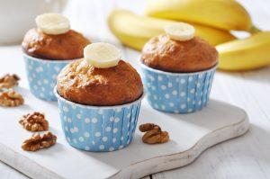 Mafini od banane kao idealan obrok užina ili poslastica za djecu i cijelu porodicu